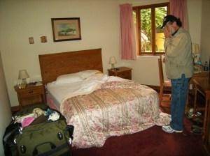 Our room at Antigua Miraflores Hotel.
