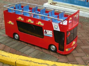 miniature bus (Miraflores)