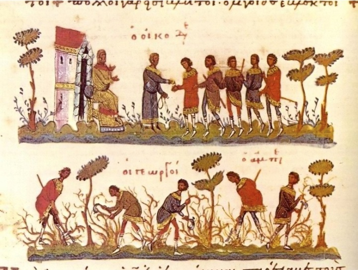 Laborers in the field-11thCentByzantine