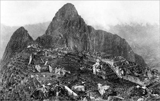 Machu Picchu in 1911