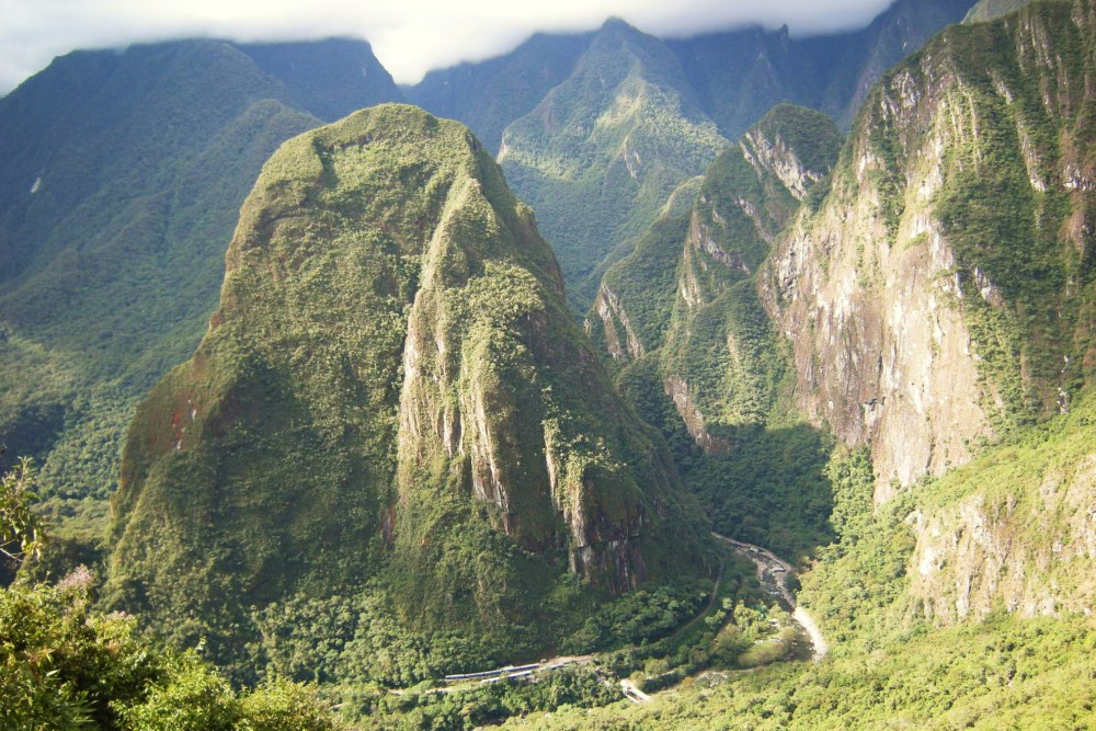 This is my first picture from Machu Picchu, taken near the entrance.