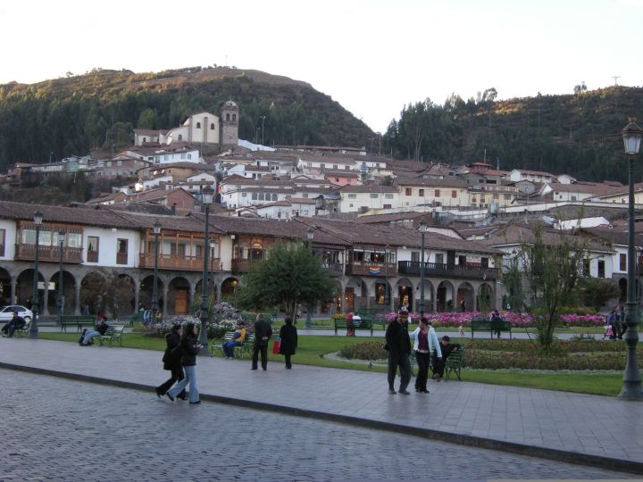 Plaza de Armas in late afternoon