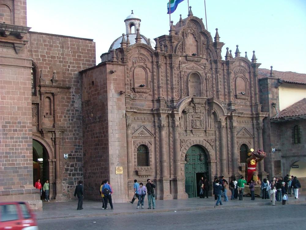 "This church, I believe, is ""La Compania."""