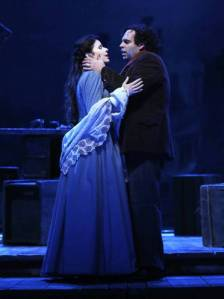 Rodolfo and Mimi in La Boheme (2013)
