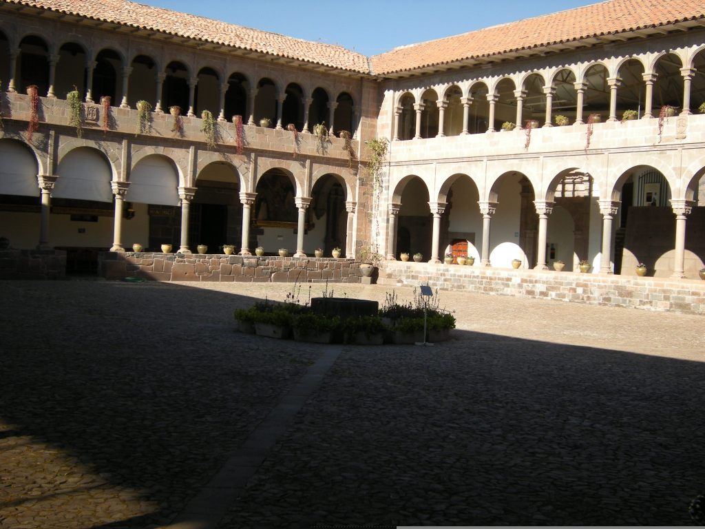 Interior courtyard of the convent