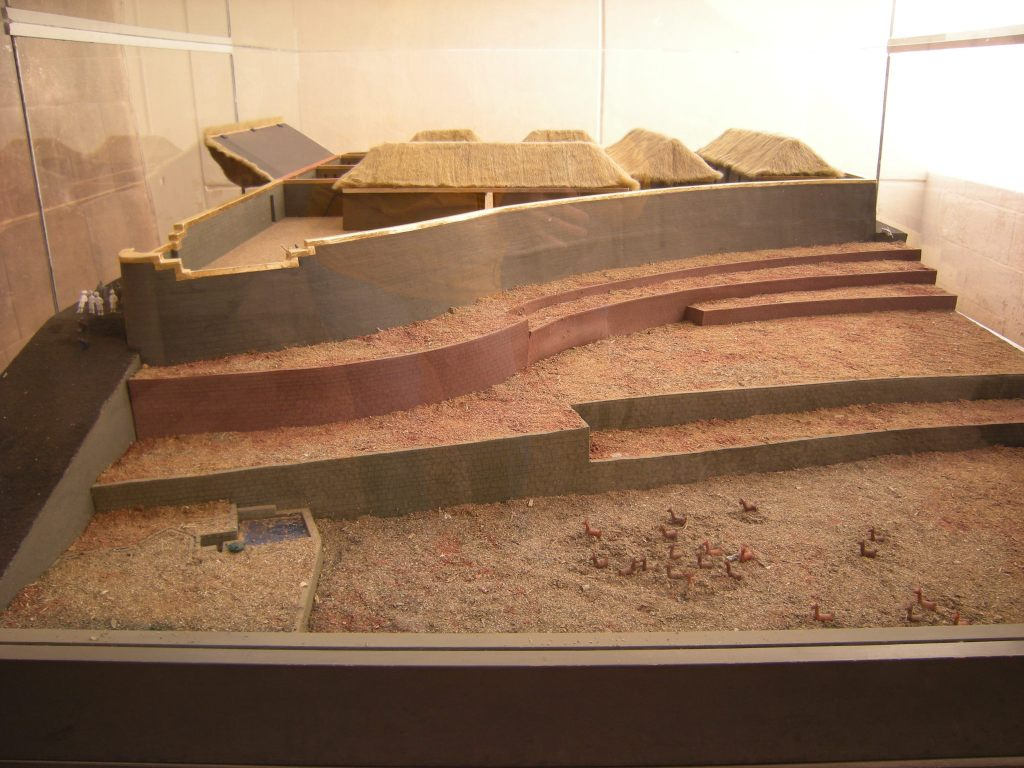 Diorama of the agricultural sector