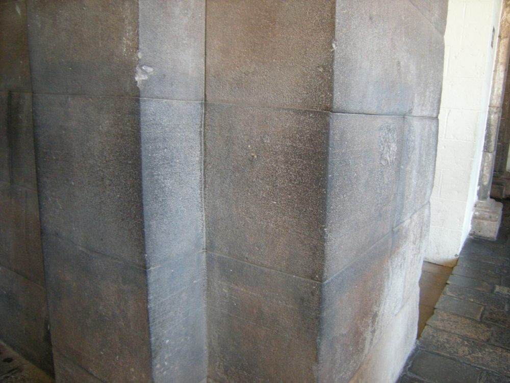 Fine, smooth stonework of the Incas
