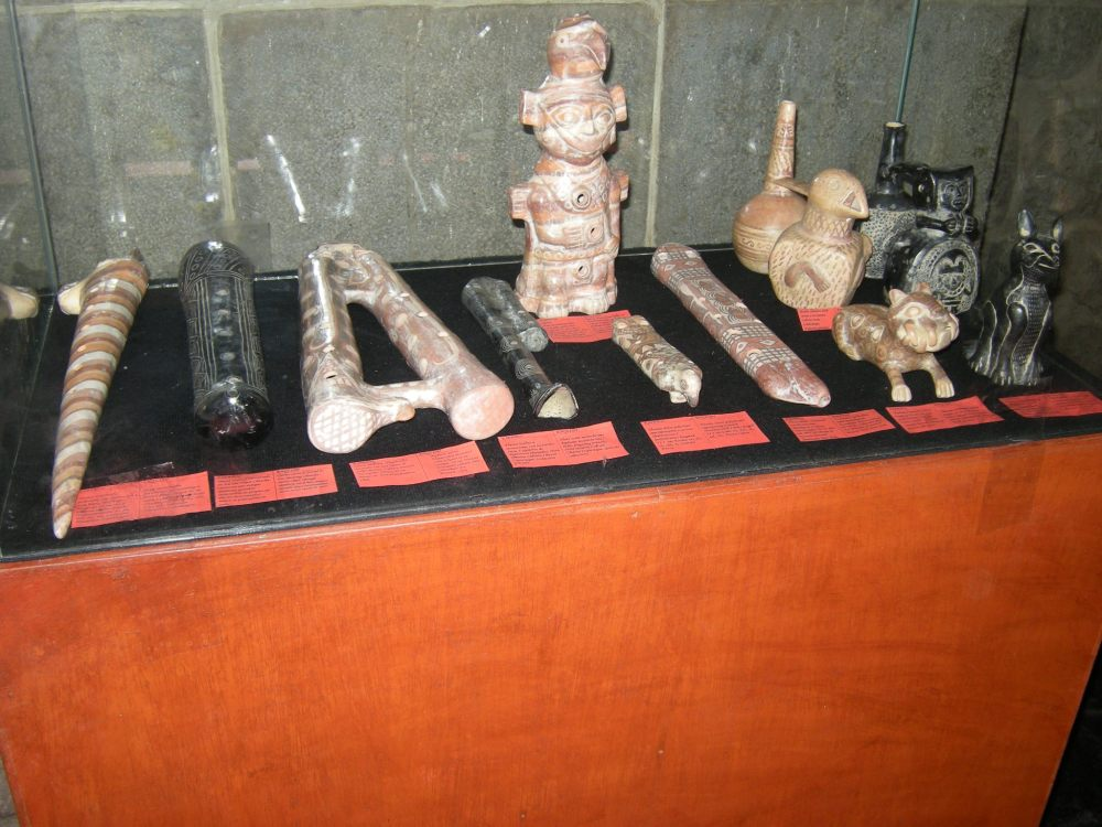 Inca artifacts found at the site