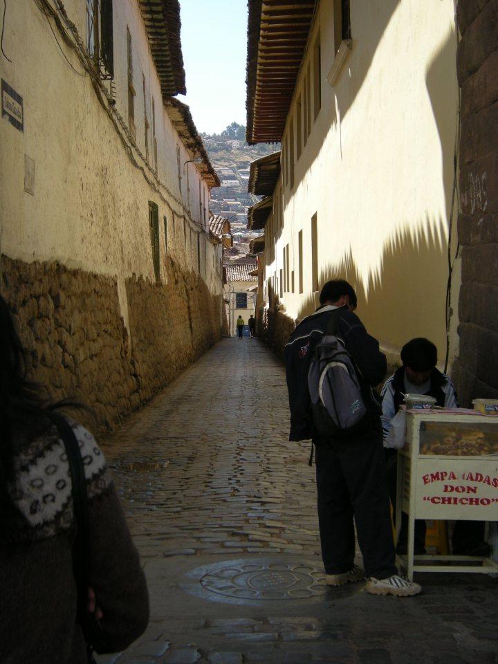 Cusco narrow street