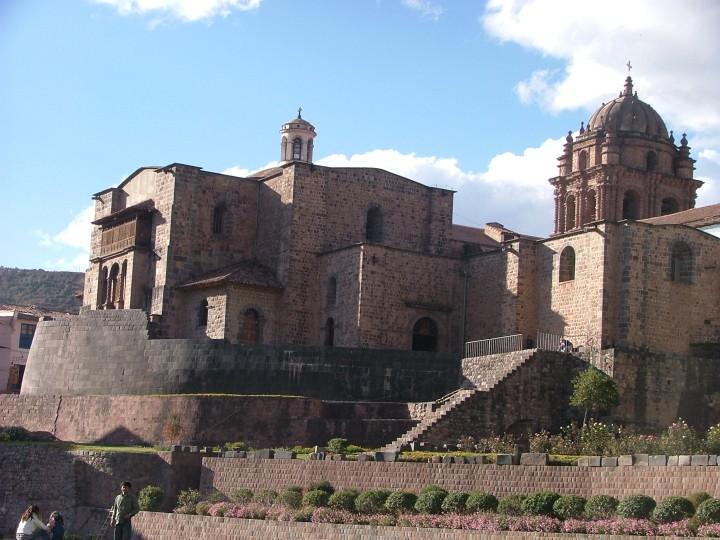 Convento de Santo Domingo built on a foundation of Inca walls and terraces