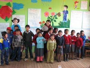 Chucuito schoolchildren