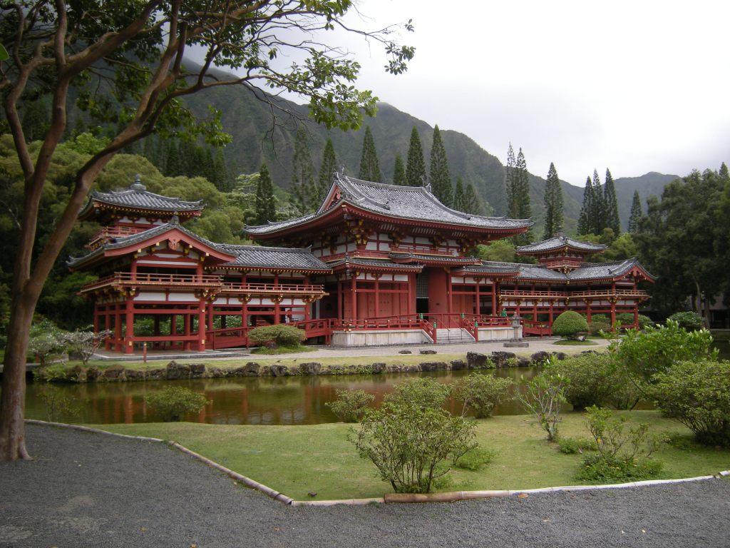 Byodo-In Buddhist Temple, Oahu