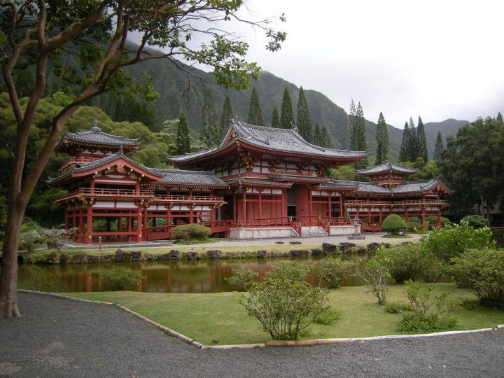 Byodo-In Buddhist Temple, Oahu