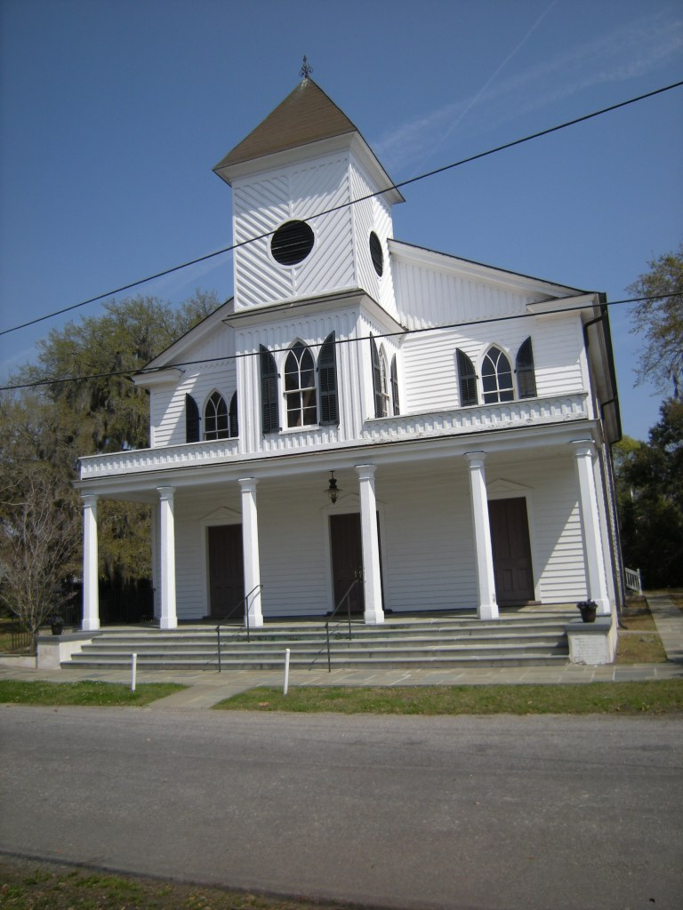 First African Baptist Church (c. 1865). Built by the Baptists of Beautfort for its African American members and in continuous use since the 1860s.