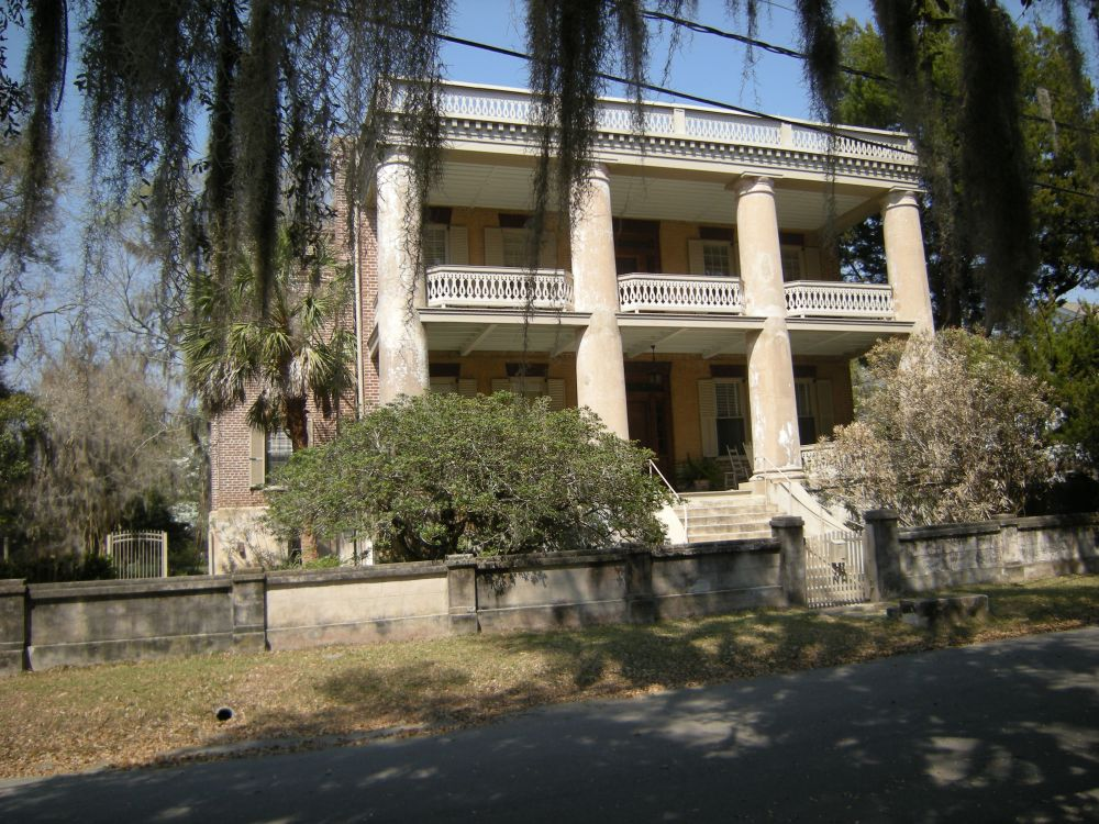 Berners Barnwell Sams House (c. 1852)