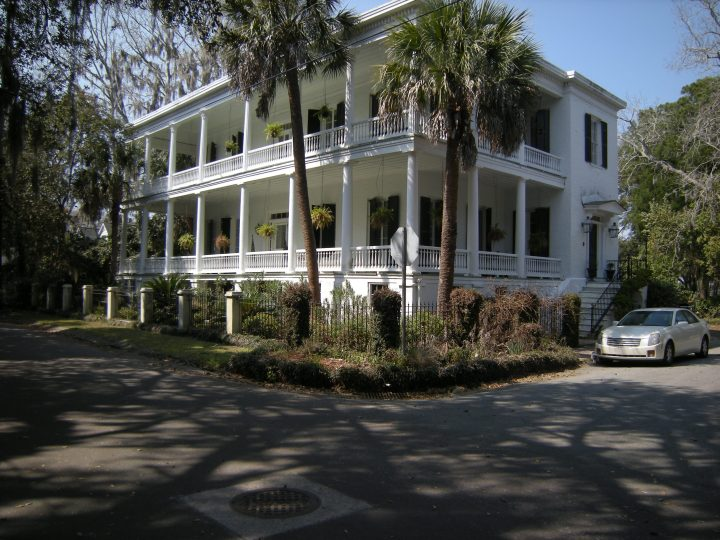 (1850) Dr. John Johnson and his wife, Claudia Talbird, are thought to have built this three-story house in the 1850s. The house was still owned by Dr. Johnson at the opening of the Civil War and was used during the war as a part of Union Hospital #3.