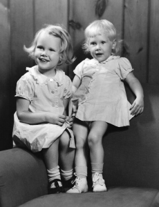 Judy & Mary, late 1945 or early 1946