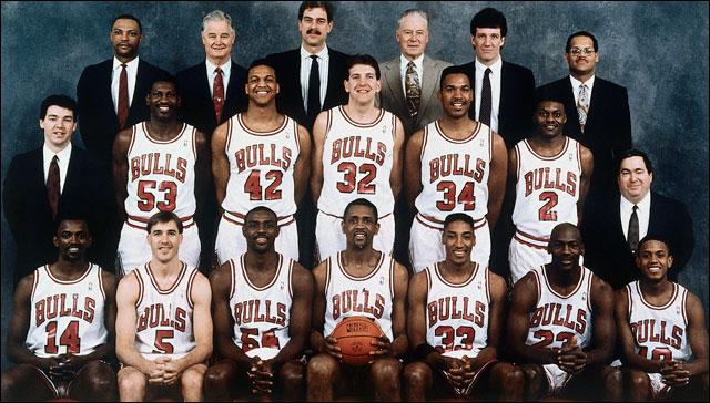 The Bulls, 1990-1991