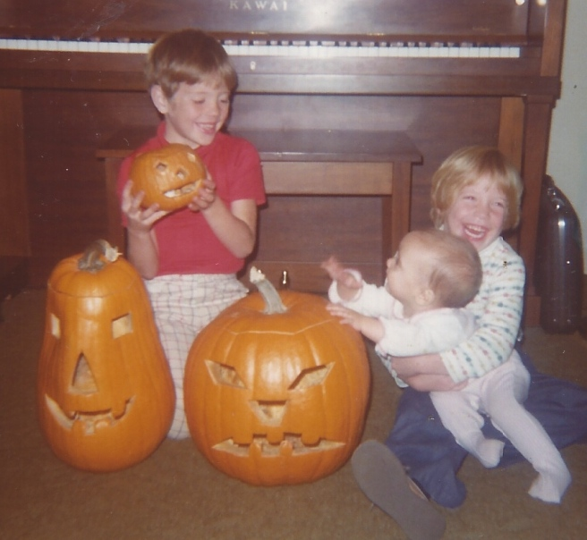 The Sweet siblings: Robby, Betsy, Maria (Oct. 1976) -