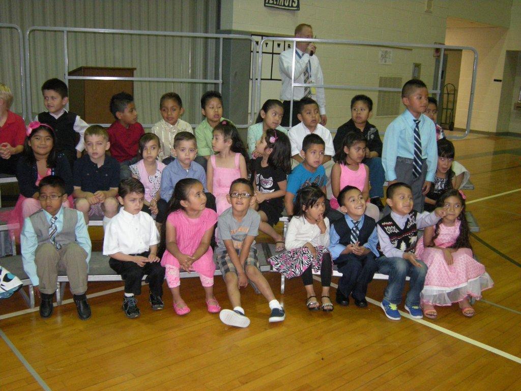 June: Kindergarten graduation