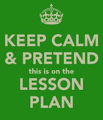 lesson plan-keep calm