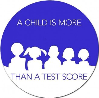 NCLB-a child is more than a test score