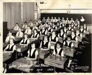 Quiet classroom - 1963