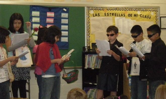 4th grade play: Red Writing Hood