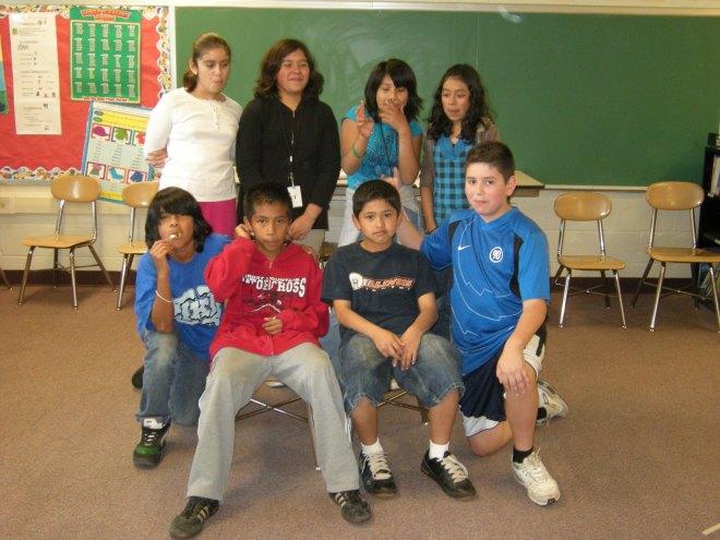 5th grade play cast