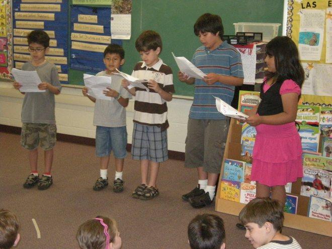 2010: 3rd grade play,