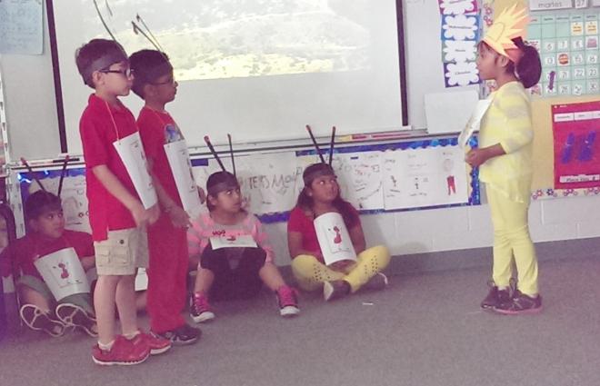 2014: 1st grade play:
