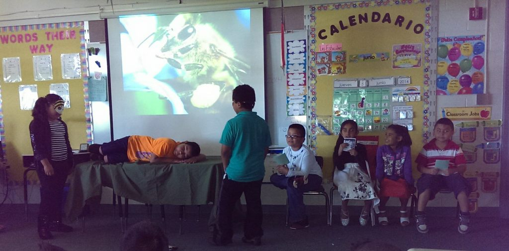 2014: 2nd grade reading class play,