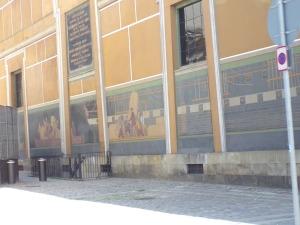 Thorvaldsen art museum murals