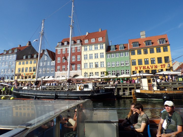 Nyhavn from our boat cruise