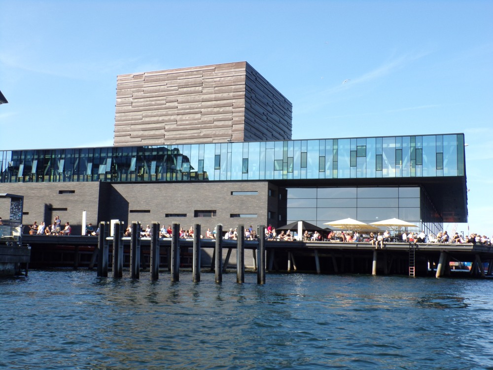 People all over the city were taking advantage of the warm and sunny weather, which Danes do not take for granted.