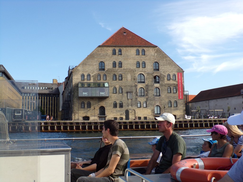 I loved this building with all the windows. It is the Danish Architecture Center.
