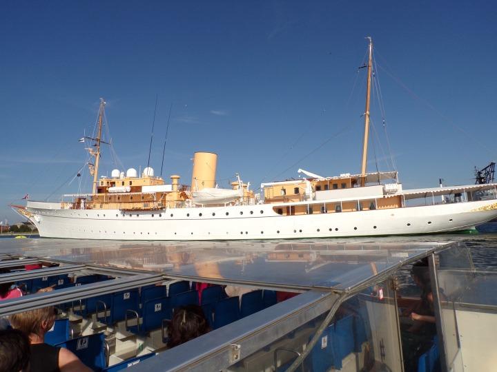 Queen's yacht