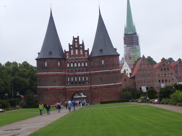 One of the four remaining city gates of Lubeck.