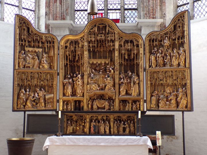 The altar piece