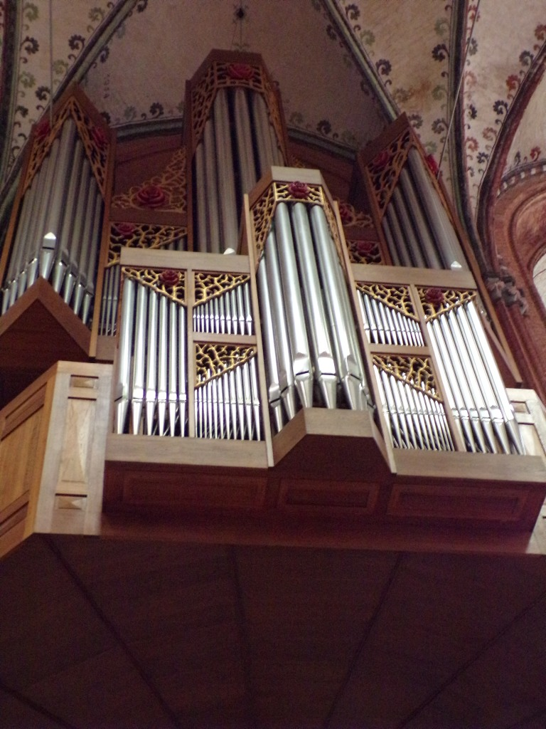 The organ has about 5,000 pipes.