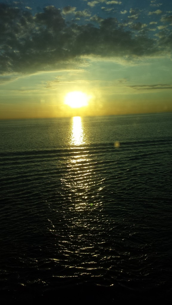 Sunrise over the Baltic Sea