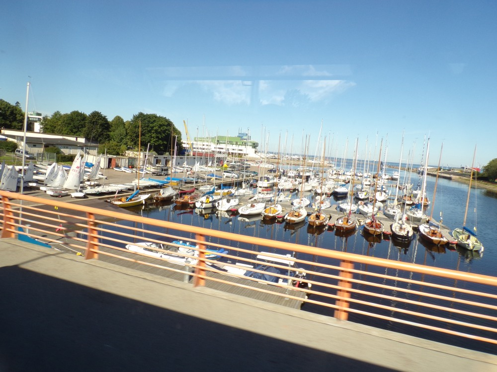 Marina - Tallinn is very oriented toward maritime activities.