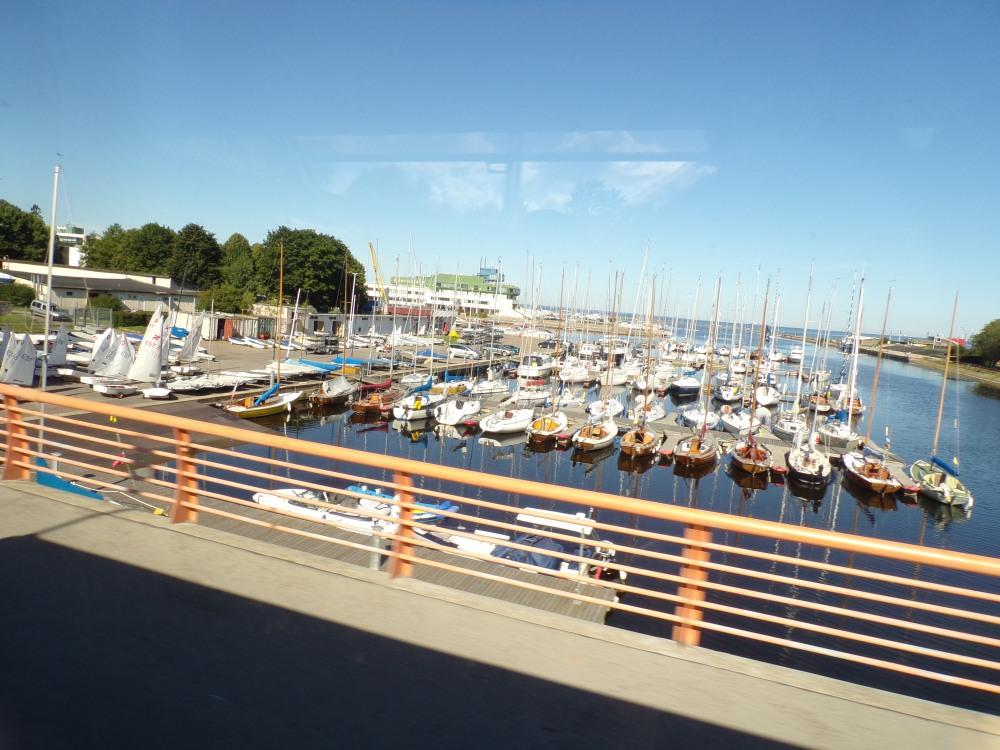 Marina - Tallinn is very oriented toward maritime activities.