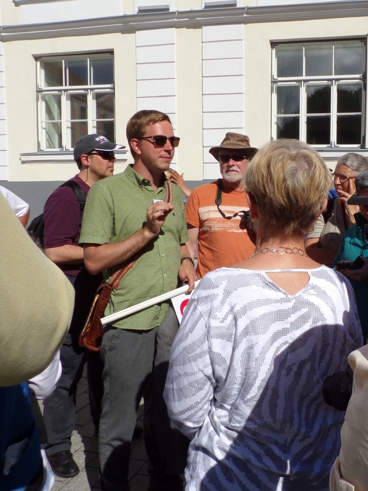 Our Matthew-Crawley- look-alike guide, Uve, gathers us around to give us a little history of what we were seeing.