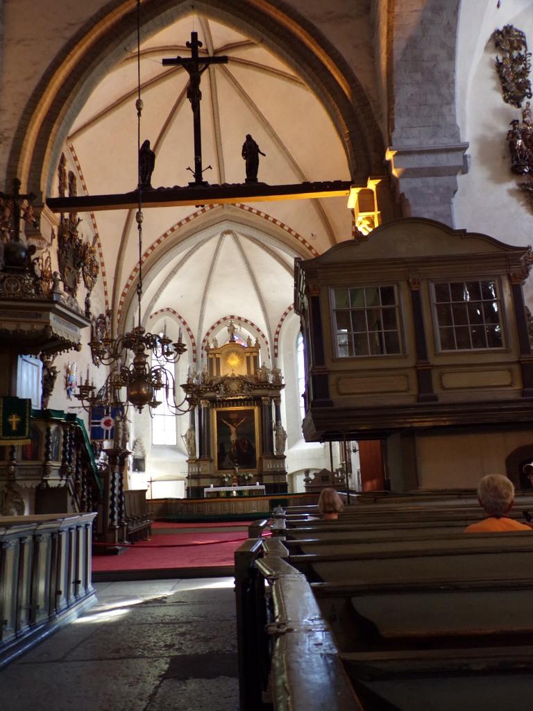 Looking toward the main altar.
