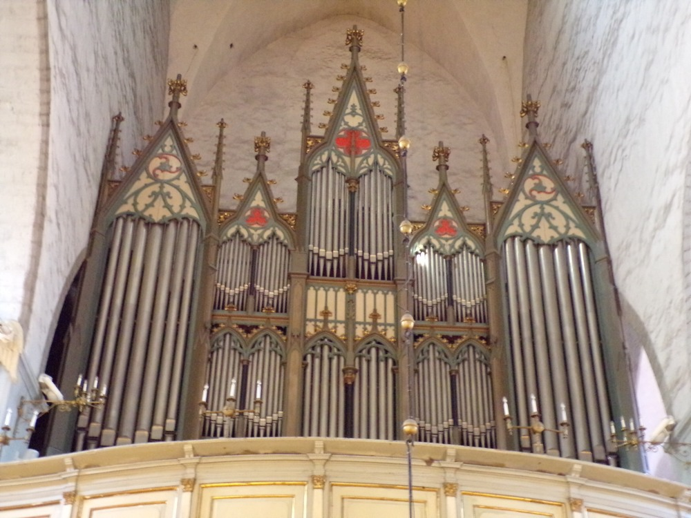 Largest church organ in Estonia.