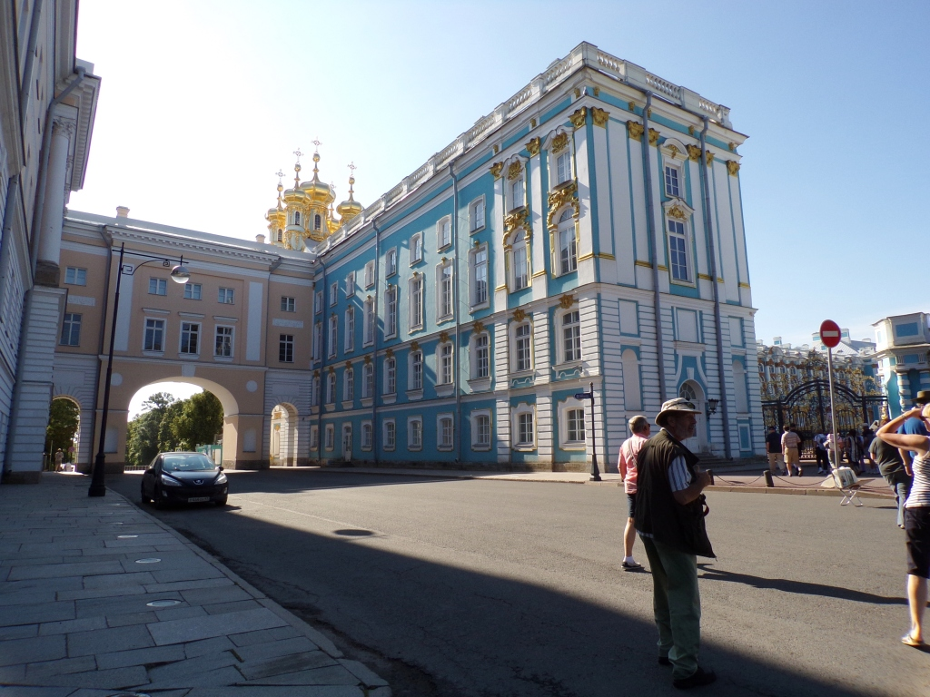 Arrival at Catherine's Palace