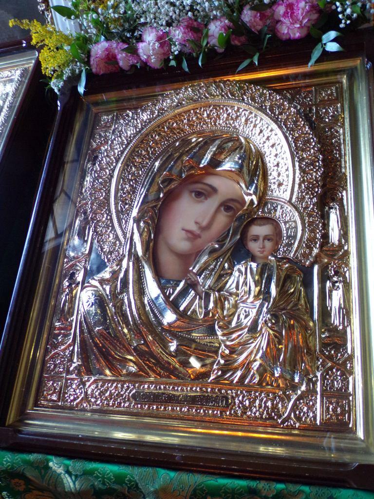 Icon of Virgin & child