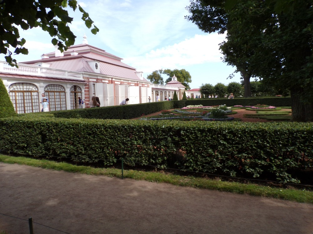 Small palace, called