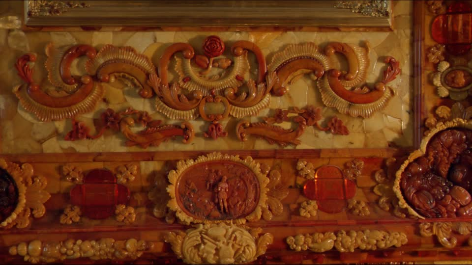amber room - detail